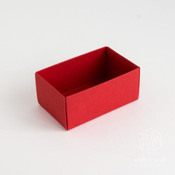 Unterteil der Buntbox S in rot [rubin]