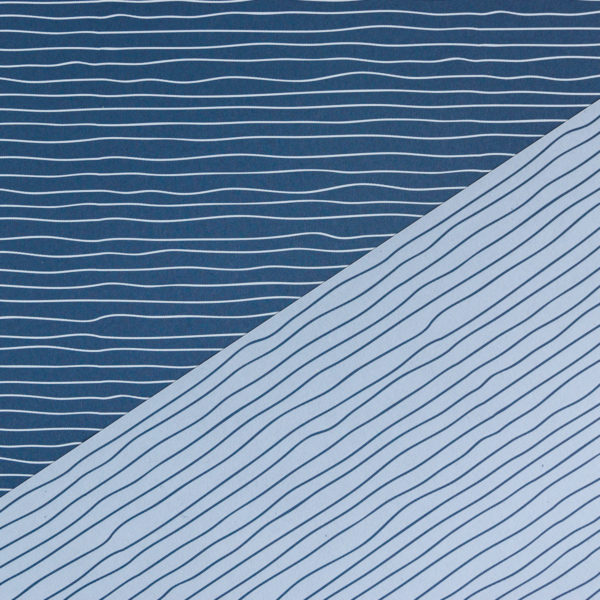 Geschenkpapier Wasser blau