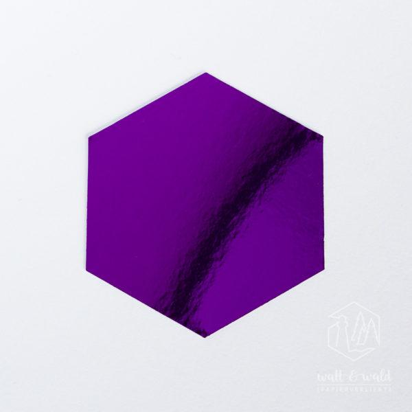 Spiegelkarton amethyst | wattundwald [papierverliebt]
