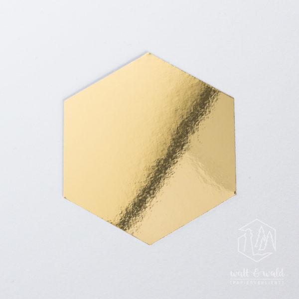 Spiegelkarton gold | wattundwald [papierverliebt]
