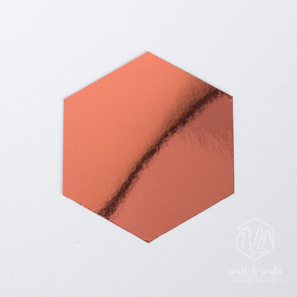 Spiegelkarton kupfer | wattundwald [papierverliebt]