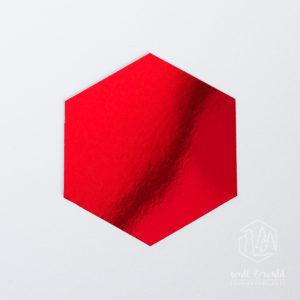 Spiegelkarton rubinrot | wattundwald [papierverliebt]