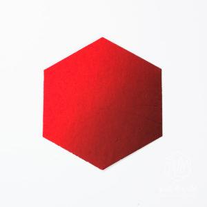 Spiegelkarton matt rubinrot