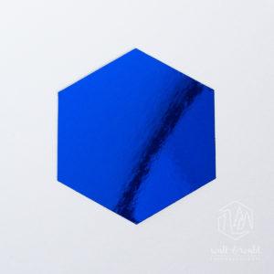 Spiegelkarton saphirblau | wattundwald [papierverliebt]
