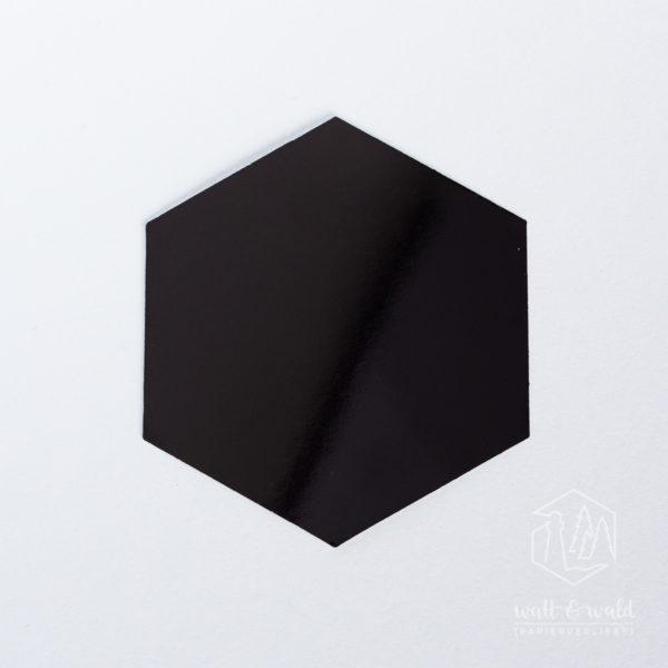 Spiegelkarton schwarz | wattundwald [papierverliebt]