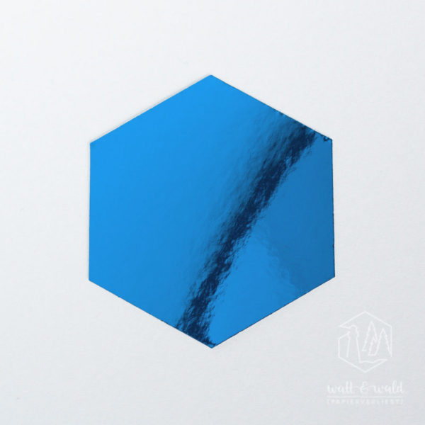 Spiegelkarton achatblau | wattundwald [papierverliebt]