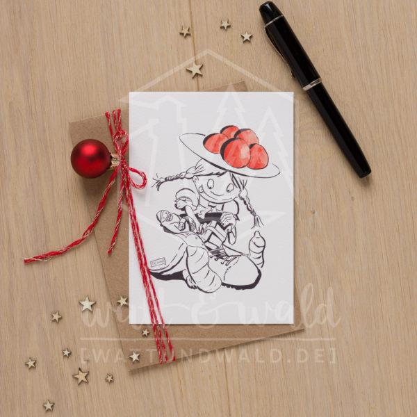Postkarte Nikolaus