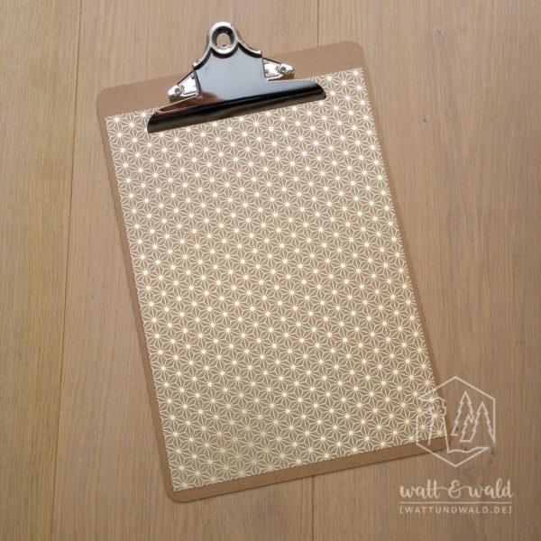 Heyda Naturkarton Starlight mit Heißfolienveredelung | gold | 220 g/m² | A4