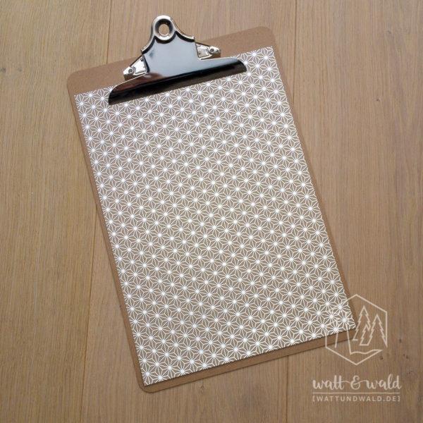 Heyda Naturkarton Starlight mit Heißfolienveredelung | silber | 220 g/m² | A4