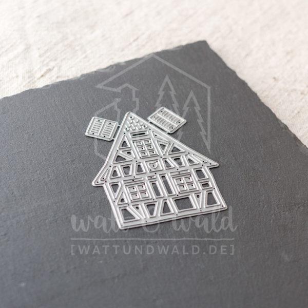 Fachwerkhaus | Stanzform von wattundwald