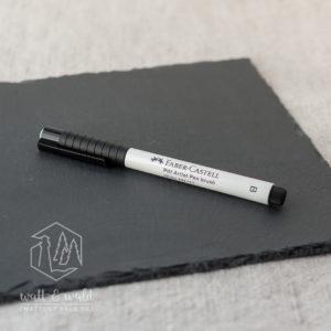 Faber-Castell Pitt Artist Pen brush [weiß] | Tuschestift mit Pinselspitze