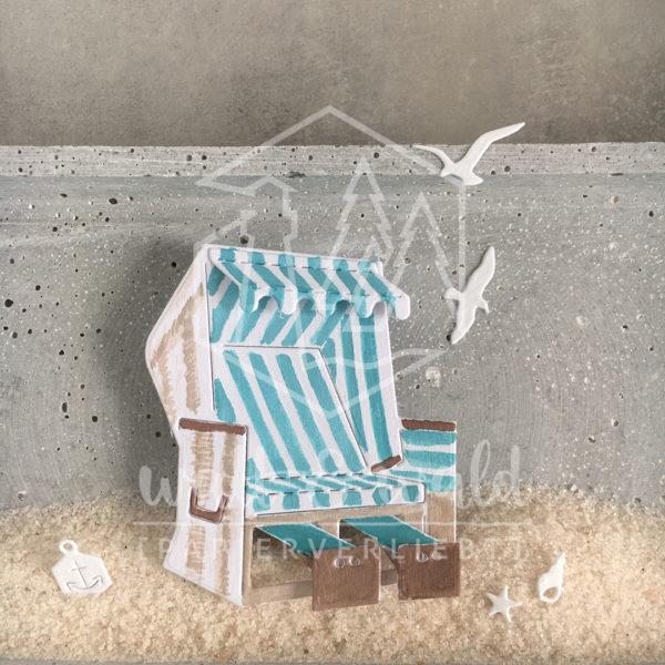 Produktbild Strandkorb von wattundwald
