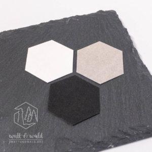 Waschpapier Muster monochrom