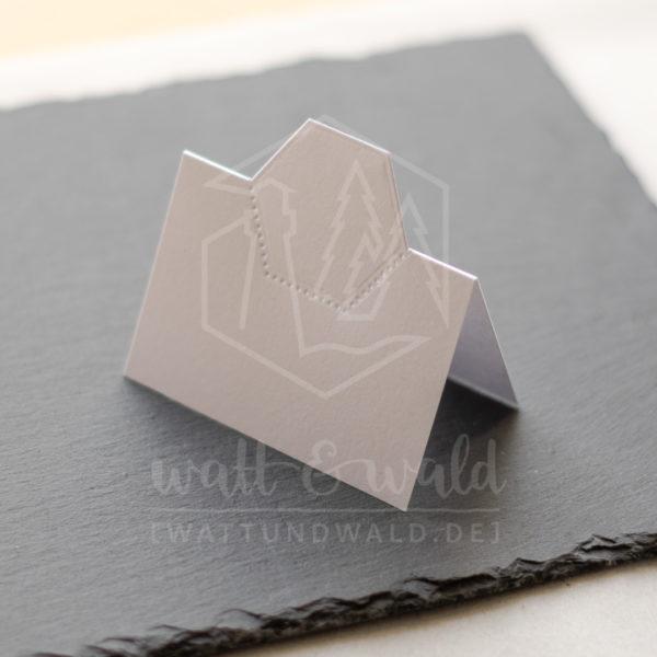 Hexagon-Tischkärtchen 2 | watt&wald